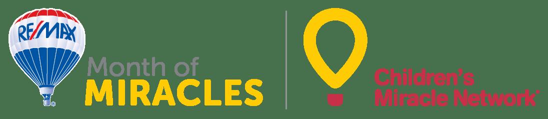 Remax and Children's Mirale Network logo